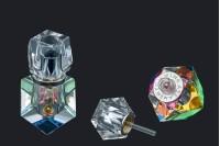 Кристална бочица с кристалним поклопцем и игло 5мл