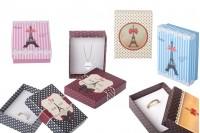 Паковање картонске кутије накит сет-Еиффел 12 комада (мали)