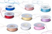 Organza traka, 3mm, u raznim bojama – jedan navoj je 50m