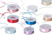 Satenska traka za ukrašavanje širina 3mm u raznim bojama – 50m