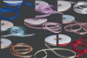 Organza traka, 6mm,u raznim bojama – jedan navoj je 50m