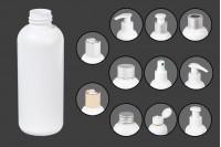 Plastična, bela flašica 150 ml PP 24