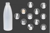 Plastična poluprovidna flašica 200 ml PP 24