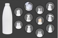 Bela plastična flašica 200 ml PP24