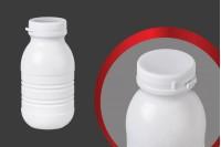Plastična , bela flašica 250 ml za sok ili mleko 63x124mm