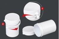 Kutija u obliku tube sa sigurnosnim prstenom 50 ml za lekove