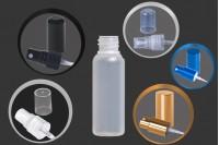 Plastična poluprovidna flašica 20 ml grlo PP18