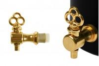 Метална игла златне боје (пола завоја)