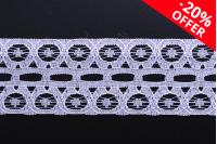 Најлона чипка (најлон) мекана ширина 28 мм - 10 метара комада