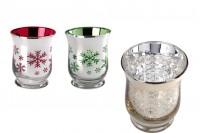 Стаклени чаша за чајну посуду од 9к11 цм