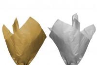 Flis papir 50x75 cm u zlatnoj ili srebrnoj boji-  50 listova