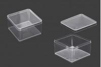 Plastična providna kutija 90x90x57mm - 6kom