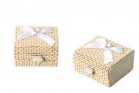 Četvrtasta kutija od bambusa - 12 kom