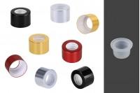 Aluminijumski prsten PP28 sa plastičnim čepom za osveživač prostora