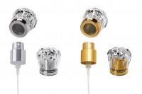 SET- sprej PP15 i akrilni poklopac u zlatnoj ili srebrnoj boji u obliku dijamanta