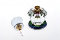 Кристална бочица од 6 мл са стакленим поклопцем и игло