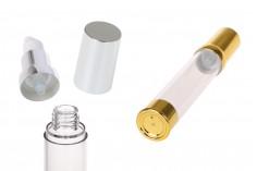 Airless akrilna tubica za kreme 30ml u zlatnoj i srebrnoj boji