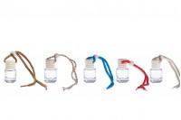 Flašica za aromu – osveživač za auto 4 ml cilindrična sa drvenim zatvaračem – pakovanje od 25 komada