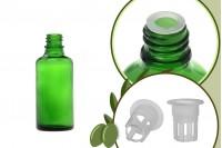 Staklena zelena bočica 50ml za ulje