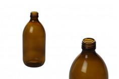 Staklena amber flašica za parfeme i ulja 500ml