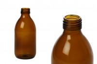 Farmaceutska flašica za parfeme i ulja,  staklena, smeđa, 250 ml