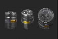 Termoskupljajuća providna folija 28x35mm za flašu sa prečnikom grla 28mm