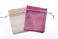 Platnena vrećica 100x140mm sa satenskim kanapom