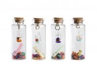 Staklene dekorativne flašice sa zatvaračem od plute
