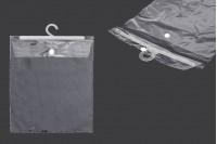 Plastične kese 22X31cm sa vešalicom- 50kom
