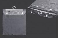 Plastične kese 26X32cm sa vešalicom- 25kom