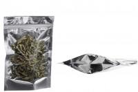 Aluminijumske DoyPack vrećice sa transparetnom prednjom stranom 160x40x240mm – 100kom