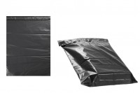 Crna plastična kesa 380x520 mm sa samolepljivim zatvaranjem za slanje poštom- 100kom