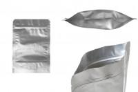 Aluminijumske DoyPack kesice 140x40x200 mm sa zip zatvaranjem i mogućnošču termo lepljenja- 100kom