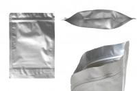 Aluminijumske DoyPack kesice 180x40x260 mm sa zip zatvaranjem i mogućnošču termo lepljenja- 100kom