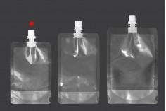 Plastična providna DoyPack kesa 200ml za tečnost- 50kom