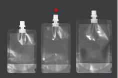 Plastična providna DoyPack kesa 250ml za tečnost- 50kom