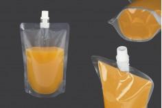 Plastična providna DoyPack kesa 380ml za tečnost- 50kom