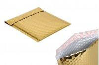 Koverte 16x18 cm u zlatnoj boji sa pucketavom folijom- 10kom