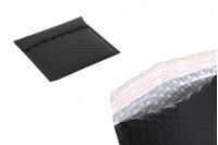 Koverta 13x13cm u crnoj mat boji sa pucketavom folijom - 10kom
