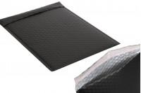 Koverta 21x29cm u crnoj mat boji sa pucketavom folijom - 10kom