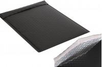 Koverta 26x38cm u crnoj mat boji sa pucketavom folijom - 10kom