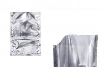Aluminijumska kesa 150x220mm sa providnom prednjom stranom i mogućnošću toplotnog zatvaranja -100 kom