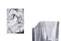Aluminijumska kesa 140x200mm sa providnom prednjom stranom i mogućnošću toplotnog zatvaranja -100 kom