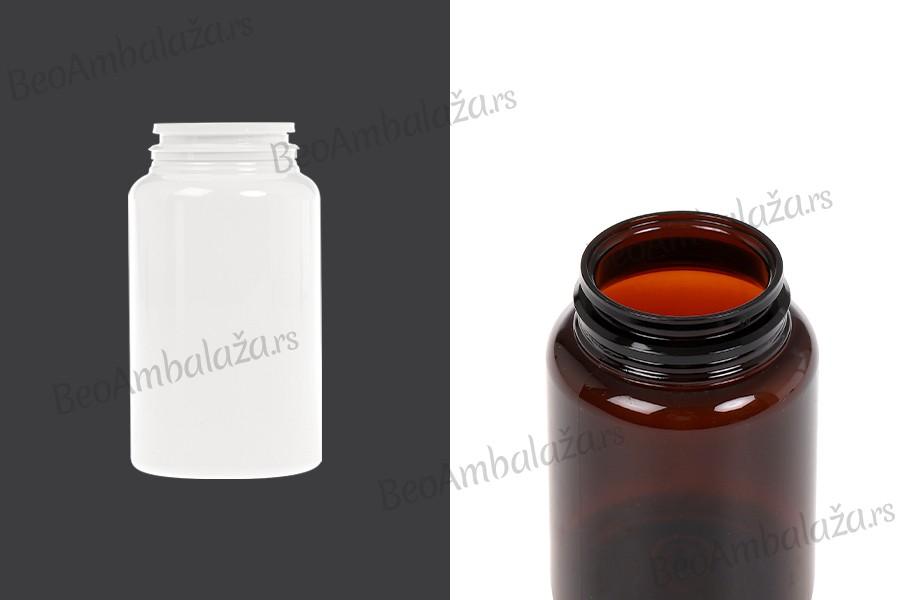 Plastična PET teglica 150ml za lekove ili kapsule
