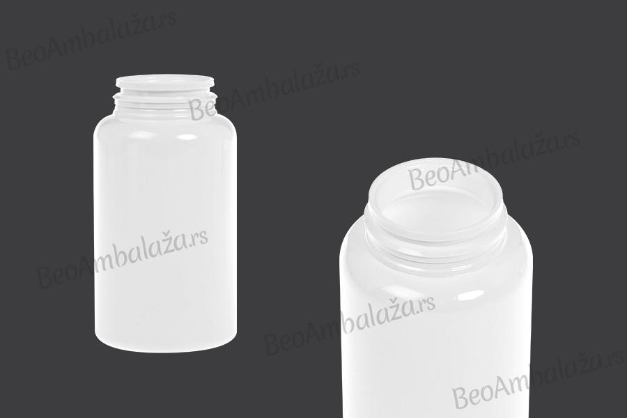 Plastična bela PET teglica 200ml za lekove ili kapsule
